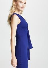Susana Monaco Tied Overlay Dress