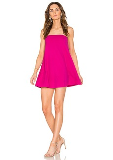 Susana Monaco Tube Drape Dress in Fuchsia. - size M (also in S,XS)