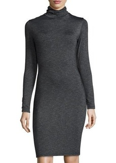 Susana Monaco Turtleneck Long-Sleeve Bodycon Dress