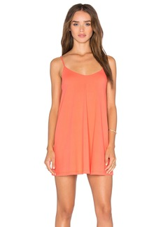 Susana Monaco Very V Drape Mini Dress