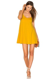 Susana Monaco Very V Dress in Yellow. - size S (also in M,XS)