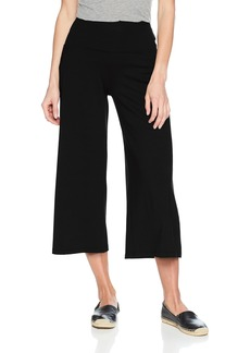 Susana Monaco Women's Allison Widelegged Cropped Culotte Pant in Solid Color  S