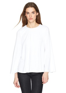 Susana Monaco Women's Athena Long Sleeve Top Sugar L