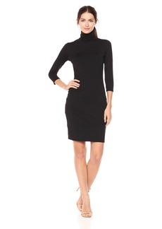 Susana Monaco Women's Cat Turtleneck Dress  S