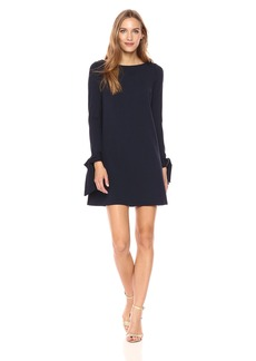 Susana Monaco Women's Cody Long Sleeve Dress  L