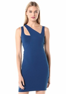 Susana Monaco Women's Curved Layered Strap Dress  XSmall