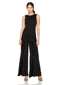 Susana Monaco Women's Ellen Ruffled Jumpsuit  XL