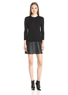 Susana Monaco Women's Flare Skirt 18 Inch Sweaterdress