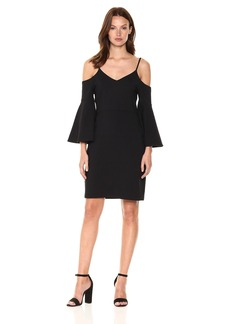Susana Monaco Women's Jemma Bell Sleeve Dress  S