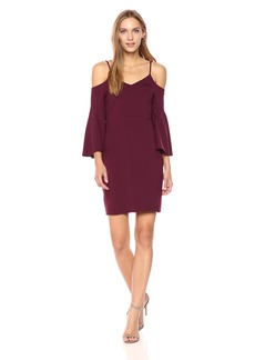 Susana Monaco Women's Jemma Bell Sleeve Dress  XS
