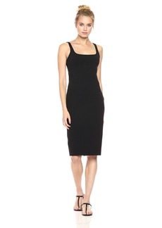 "Susana Monaco Women's Perfect Tank Dress 27"" black M"