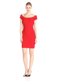 Susana Monaco Women's Supplex Keira Short Sleeve Dress