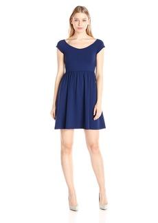 Susana Monaco Women's Supplex Veronica Short Sleeve Dress