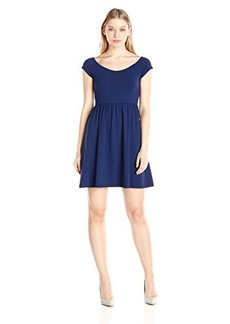 Susana Monaco Women's Supplex Veronica Short Sleeve Dress
