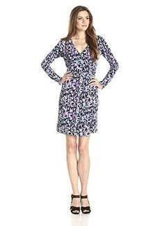 Susana Monaco Women's Wrap 21 Inch Dress