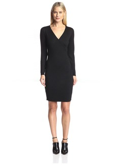 Susana Monaco Women's Wrap Sweater Dress  M