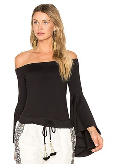 Susana Monaco x REVOLVE Jordan Bodysuit in Black. - size S (also in XS)