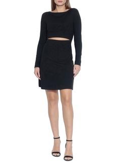 Women's Susana Monaco Slit Fit & Flare Dress