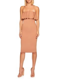 Women's Susana Monaco Strapless Ruffle Dress