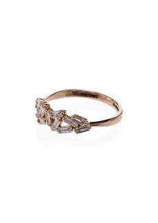 Suzanne Kalan chevron diamond-embellished ring