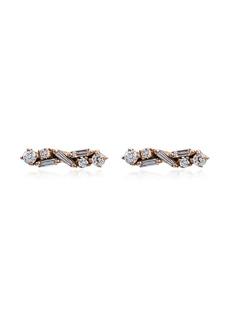 Suzanne Kalan diamond post earrings