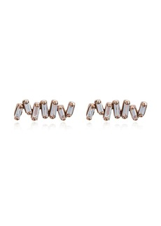 Suzanne Kalan Fireworks diamond-embellished earrings