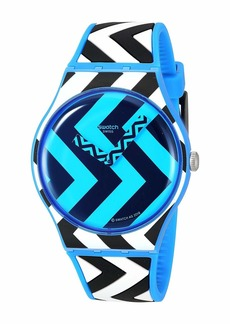 Swatch Blue Zag - SUOS111