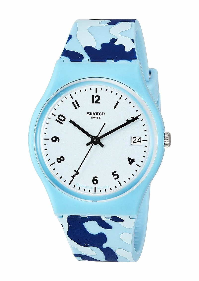 Swatch Camou Blue - GS402
