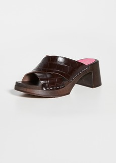 Swedish Hasbeens Anette High Clogs