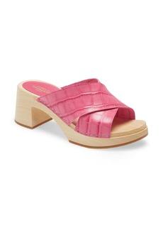 Swedish Hasbeens Anette Platform Slide Sandal (Women)