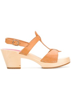 Swedish Hasbeens Greek sandals - Brown