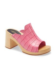 Swedish Hasbeens Lotten Platform Slide Sandal (Women)