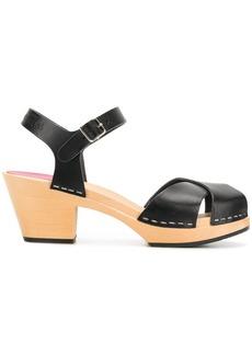 Swedish Hasbeens Mirja sandals - Black