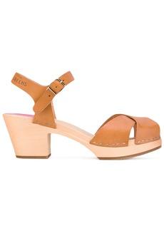 Swedish Hasbeens Mirja sandals - Nude & Neutrals