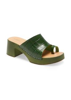 Swedish Hasbeens Toe Strap Slide Sandal (Women)