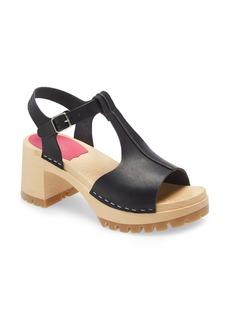Swedish Hasbeens Tracta Platform Sandal (Women)