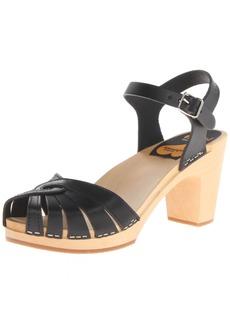 swedish hasbeens Women's Fredrica Heeled Sandal  39 EU/