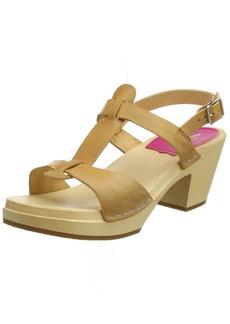 swedish hasbeens Women's Greek Sandal  3 Regular EU ( US)