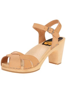 swedish hasbeens Women's Kringlan Heeled Sandal  40 EU/