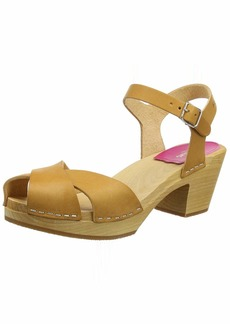 swedish hasbeens Women's Mirja Heeled Sandal  3 EU/ M US