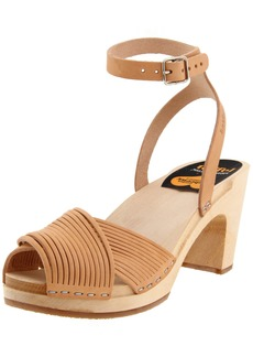 Swedish Hasbeens Women's Strappy Ankle-Strap Sandal M US