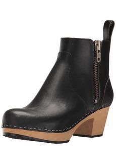swedish hasbeens Women's Zip IT Emy Ankle Boot
