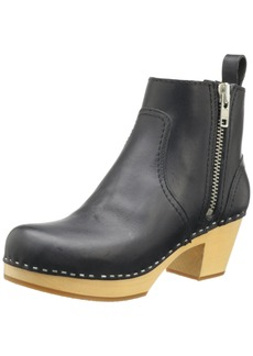swedish hasbeens Women's Zip IT Emy Ankle Boot