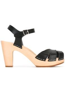 Swedish Hasbeens Zuzanne sandals - Black