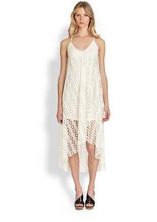 T-bags Los Angeles Crocheted Hi-Lo Dress