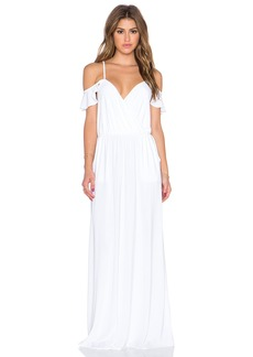 T-Bags LosAngeles Cold Shoulder Maxi Dress
