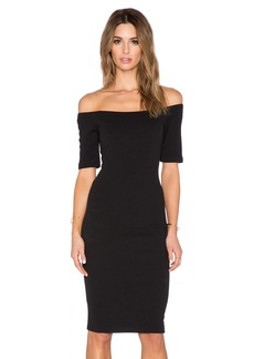 T-Bags LosAngeles Off The Shoulder Bodycon Dress