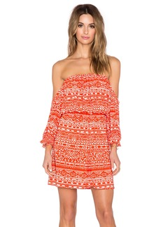T-Bags LosAngeles Off the Shoulder Mini Dress