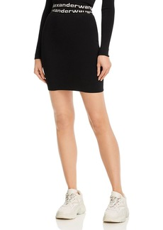 T by Alexander Wang alexanderwang.t Bodycon Mini Skirt