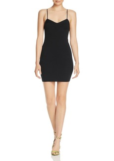 T by Alexander Wang alexanderwang.t Bustier-Style Mini Dress